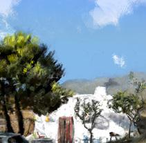 Mi Proyecto del curso: Pinceles y pixeles: introducción a la pintura digital en Photoshop. Un proyecto de Pintura de manologv         - 28.02.2018