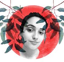 Mi Proyecto del curso: Retrato ilustrado con Photoshop. A Illustration, and Collage project by Olga Fernández Pero         - 03.03.2018