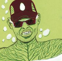 Green Run. Un proyecto de Ilustración y Dirección de arte de Gustavo Berocan         - 08.03.2018