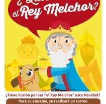 Campaña quieres ser rey Melchor. A Design, and Social Media project by Alba Córdoba Cabús         - 08.11.2017