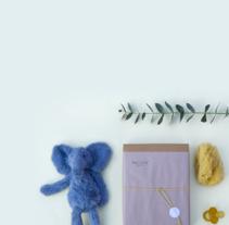 Identidad visual handmade de Babylua. A Design, Br, ing, Identit, and Packaging project by Laura Avivar Valderas         - 15.03.2018