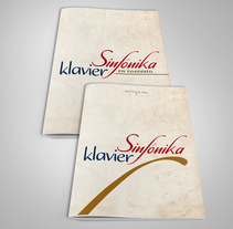 Tipografía Sinfónika für Klavier. A Design, Graphic Design, T, and pograph project by Rafael Ricardo Nieva De Palma         - 29.03.2018