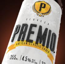 Cerveza Premio. Un proyecto de 3D de Eduardo Fajardo         - 02.04.2018
