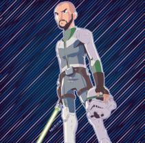 Avatar - Star Wars. Um projeto de Ilustración vectorial de David Soria         - 01.04.2018