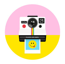 Polaroid Originals. A Vector illustration project by ely zanni         - 21.04.2018